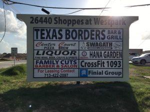 custom tenant sign